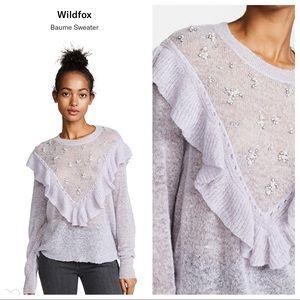 NWT! Wildfox Baume Sweater